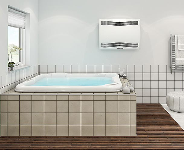 Déshumidificateur piscine Mural